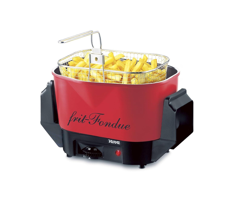Nova - Retro Frit-Fondue Red - Freidora Y Juego De Fondue En ...