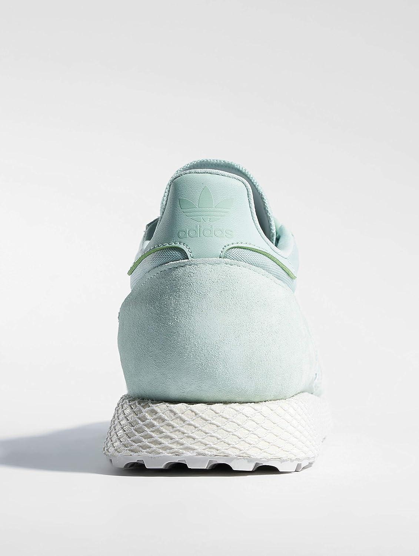 adidas Damen Forest Grove W Fitnessschuhe, grau Grün (Vercen/Blanub/Vercen 0)
