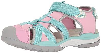 622f03914 Geox Mädchen J Borealis Girl B Geschlossene Sandalen mit Keilabsatz ...