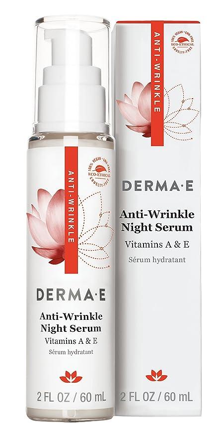 Antiarrugas vitamina A Suero nocturno, 2 onzas líquidas (60 ml) - Derma E