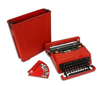 Vintage Olivetti San Valentín máquina de escribir, Classic Ettore Sottsass diseño, 1969 Original: Amazon.es: Oficina y papelería