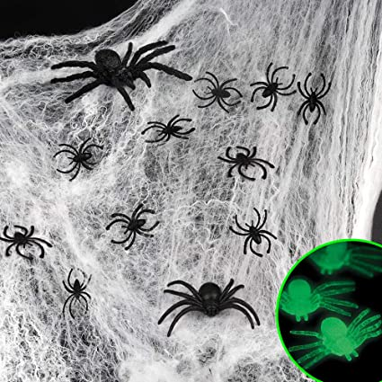 Sensil Halloween 2020 Cocone Amazon.com: D FantiX Spider Webs Halloween Decorations,1000 sqft