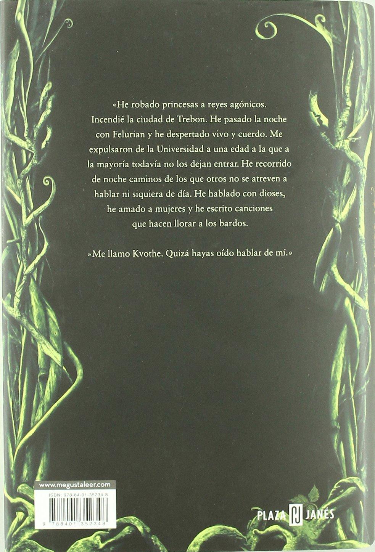 El nombre del viento (Crónica del asesino de reyes): Amazon.es ...