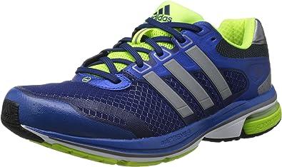 adidas Supernova Glide 5 m - Zapatillas de correr de material sintético hombre, azul - Blau (Blue Beauty F10 / Metallic Silver / Electricity), 6 UK: Amazon.es: Zapatos y complementos