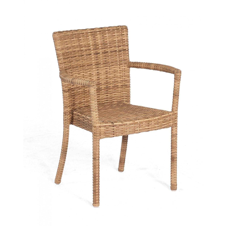 Sonnenpartner Gartenstuhl Sessel Modell Cartago Farbe natura antik 80061252