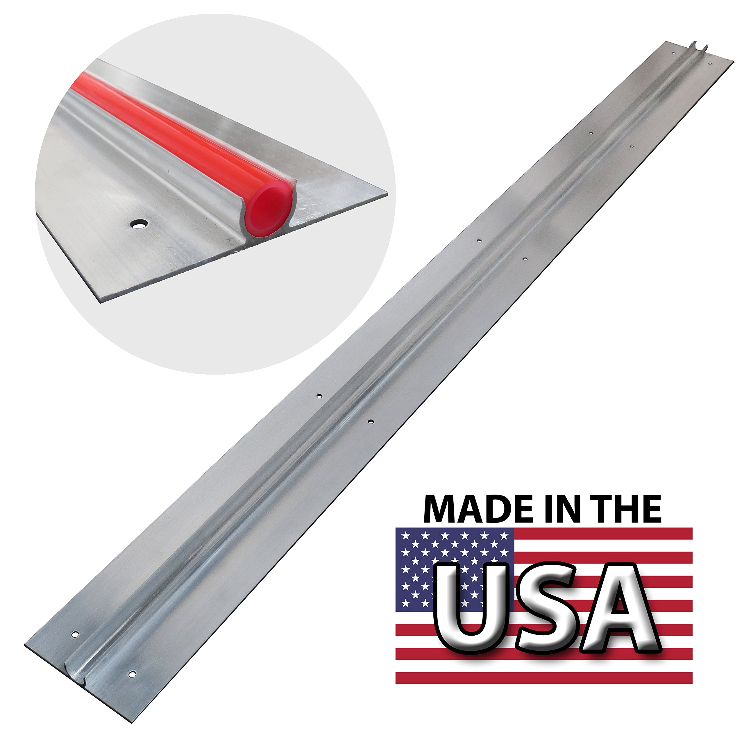 PEX GUY Extruded 4 Ft Aluminum Heat Transfer Plates for 1/2'' PEX (25 pc/box) by PEX GUY