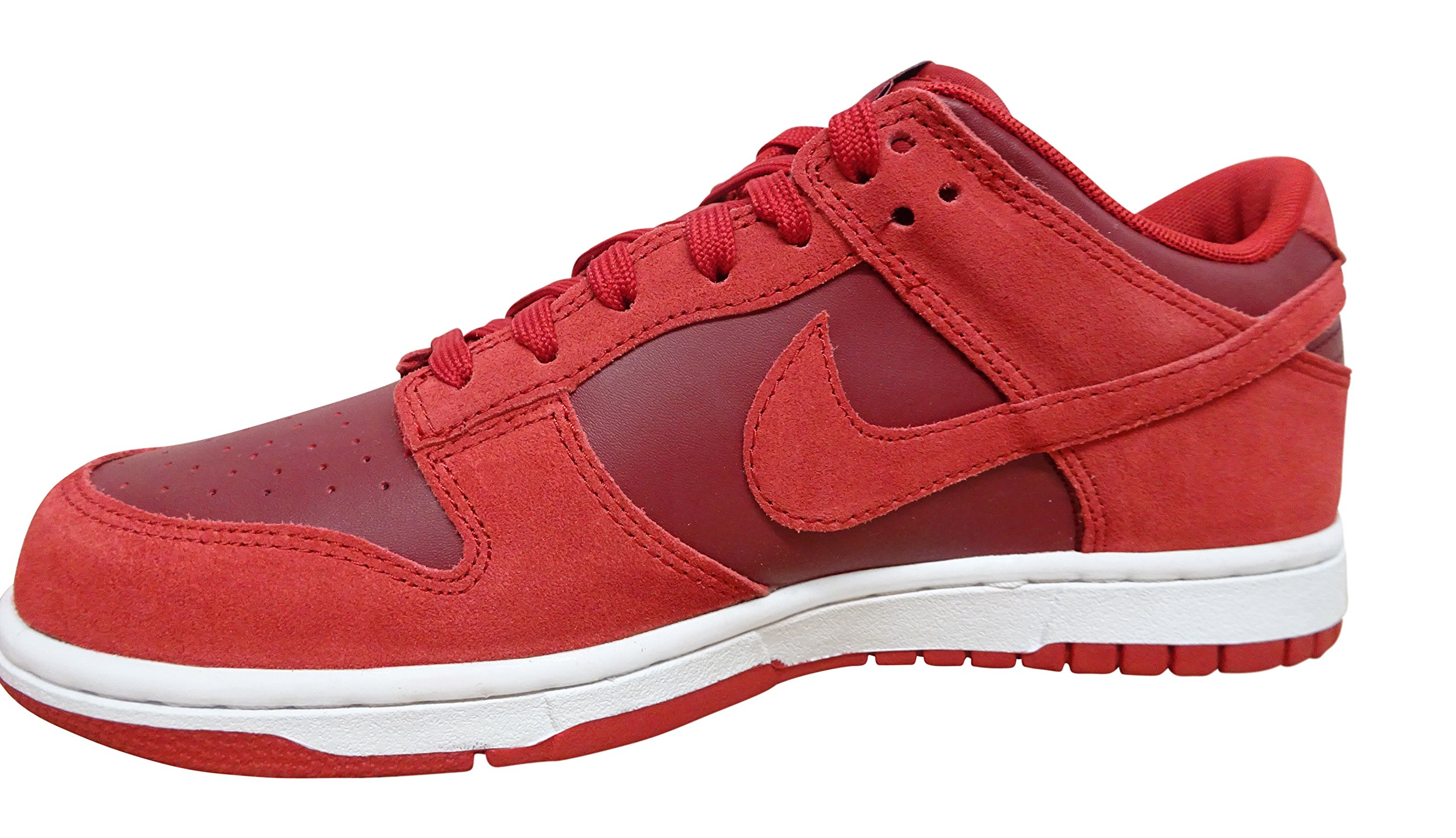 NIKE Dunk Low Mens Trainers 904234 Sneakers Shoes (US 10, Gym Red Team White 601)