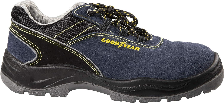 Zapatos de Seguridad para Calzado Cruzado y Tejido TG.43 Gris Goodyear