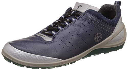 Blue Peacoat Leather Sneaker