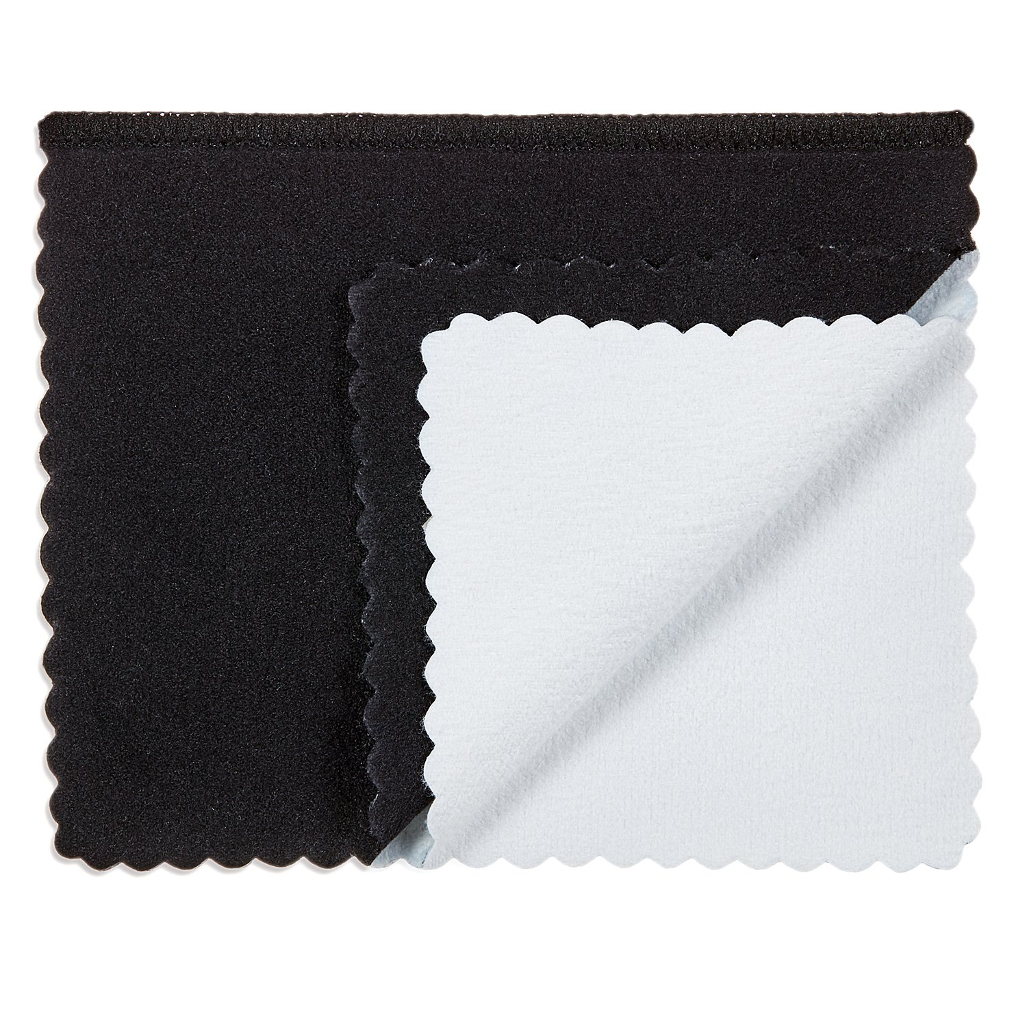 3 Pack The Bling Factory Deluxe Microfiber Jewelry Cleaning /& Polishing Cloth w//Dual Layers