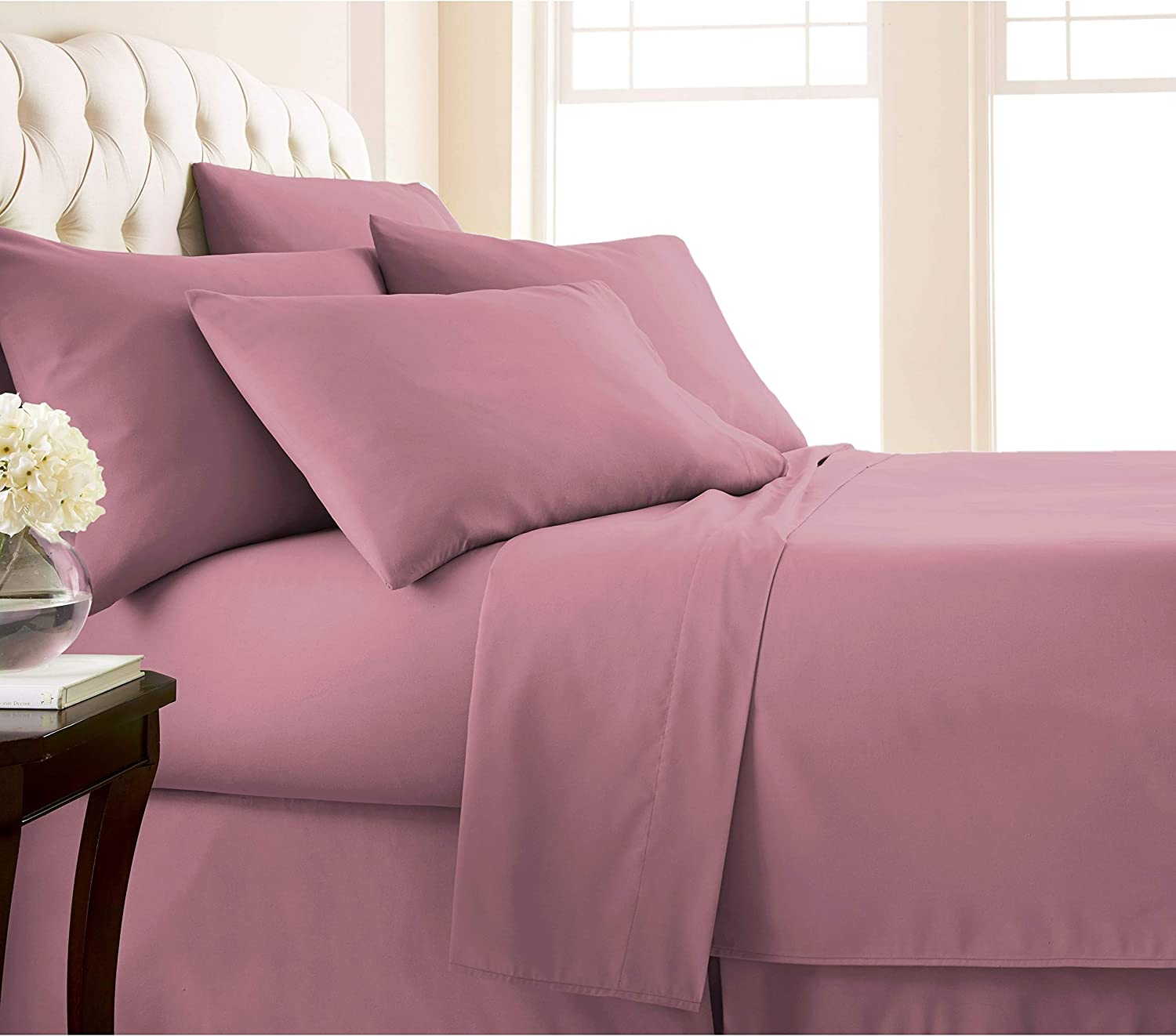 - Amazon.com: MISC 4 Piece The Best Rose Sheets Twin Size Set