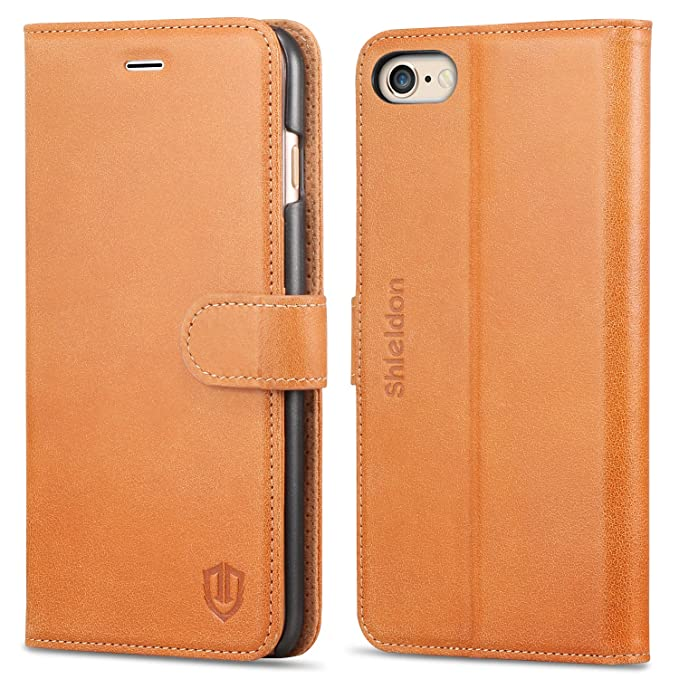 huge discount 5e213 6c86b Amazon.com: iPhone 6s Plus Case, iphone 6 Plus Wallet case, SHIELDON ...