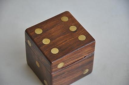 Amazon Com Christmas Gift Decorative Boxes Handmade Brown Wooden