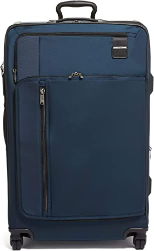 TUMI – Merge Extended Trip Expandable Packing Case Large Suitcase – Rolling Luggage for Men and Women – Navy