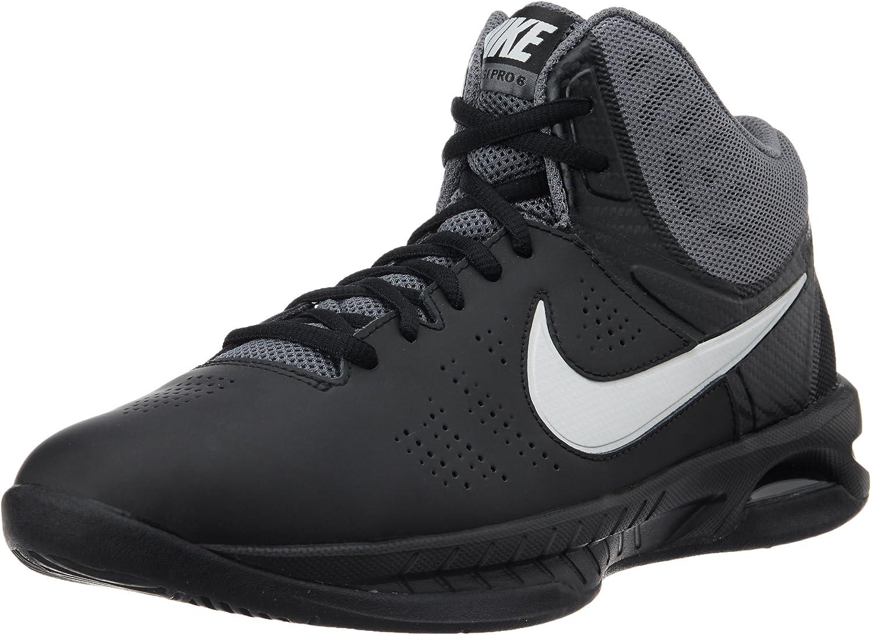 Nike Air Visi Pro Vi, Zapatillas de Baloncesto para Hombre, Negro/Gris/Blanco (Black/Mtlc Platinum-Dark Grey), 39 EU: Amazon.es: Zapatos y complementos