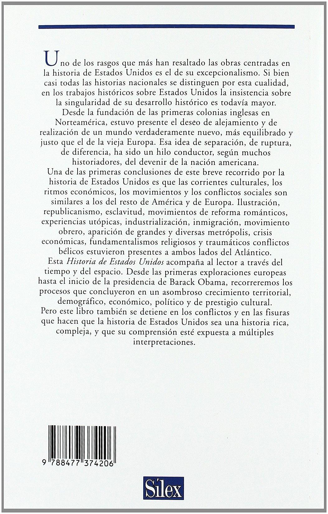 Historia de Estados Unidos: Amazon.es: Carmen De la Guardia Herrero: Libros