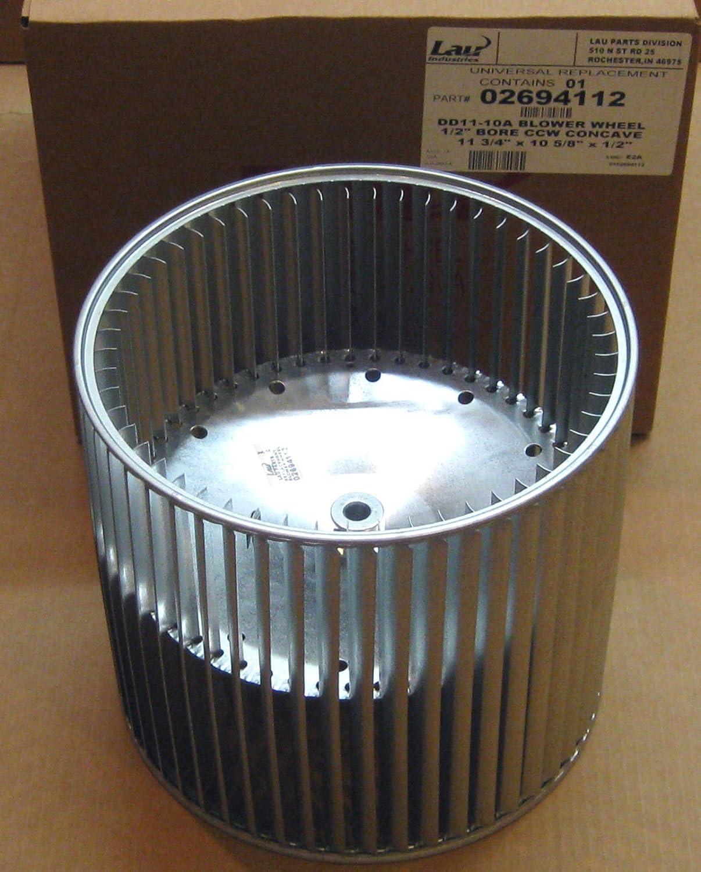 CW blower wheel LAU Industries//Conaire 02694111 1//2 bore