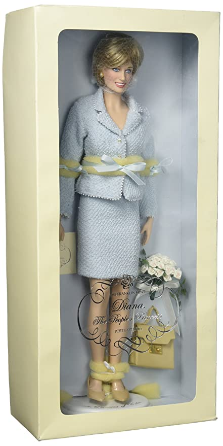 Amazon.com: Franklin Mint Diana The People\'s Princess Portrait Doll ...
