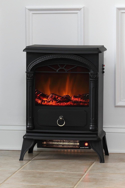 amazon com fire sense vernon electric fireplace stove home u0026 kitchen