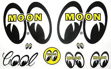 BIG Eyes Vinyl Decal Sticker Die Cut Window American Muscle Classic Car Rat Rod