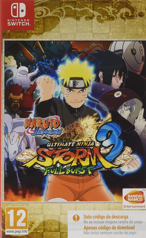 Naruto Ultimate Ninja Storm 3 Full Burst (Code In a Box): Amazon ...