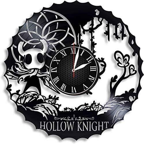 Hollow Knight Vinyl Wall Clock