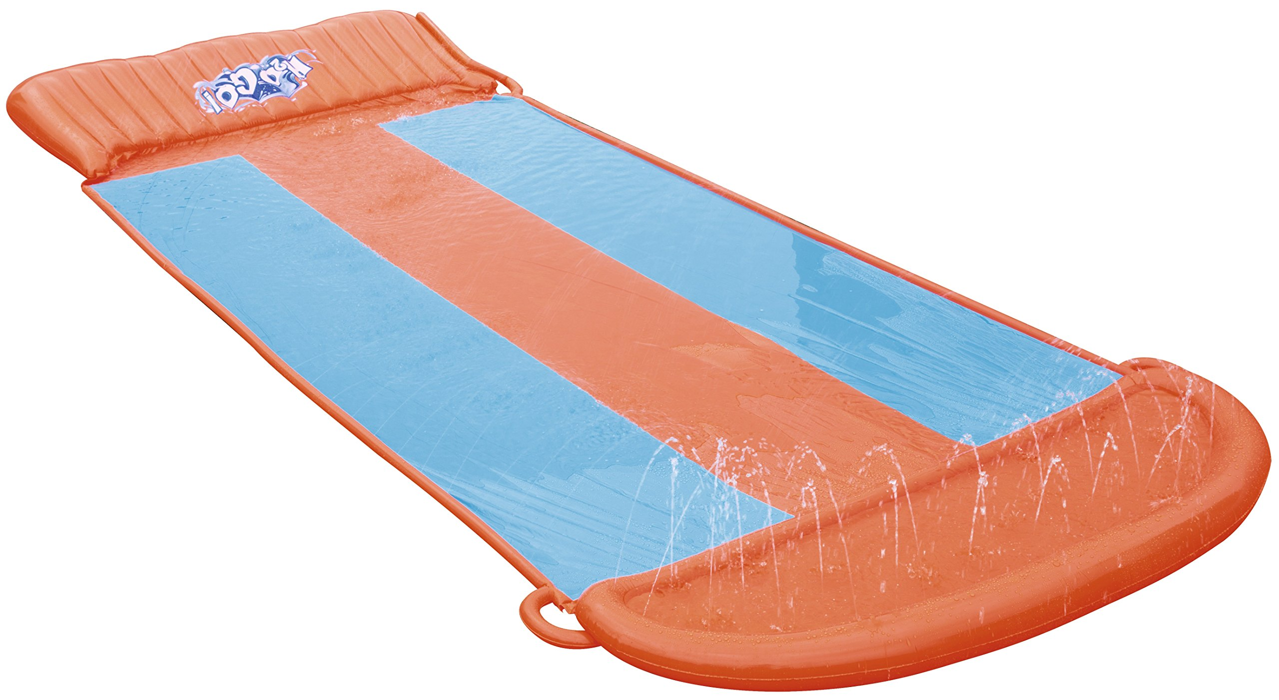 Bestway 5.5 m H2O Go! Triple Slider Water Slide (Orange/Blue) by Bestway