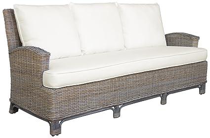 Amazon.com : Panama Jack Sunrooms PJS-3001-KBU-S Exuma Sofa ...