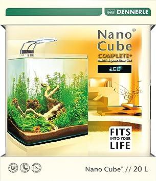 dennerle 6021 nanocube complete plus led 20 l amazon co uk pet