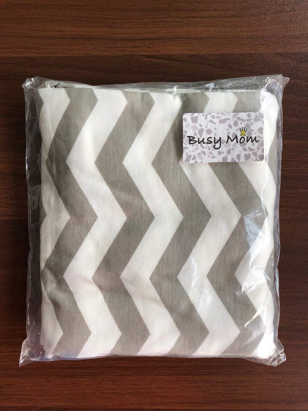 Multiusos orgánico algodón enfermería lactancia materna, Baby Set de coche para toldo carrito de la compra cubierta Swaddle Manta para bebés recién nacidos ...