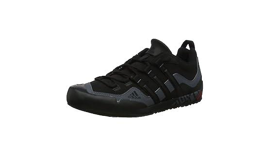 adidas Terrex Swift Solo, Chaussures de Fitness homme, Noir (BlackBlackLead), 41 13