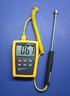 Digital Scientific K-type Thermocouple Thermometer with 2