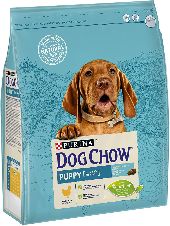 Purina Dog Chow Puppy para Perro Cachorro Pollo 4 x 2,5 Kg