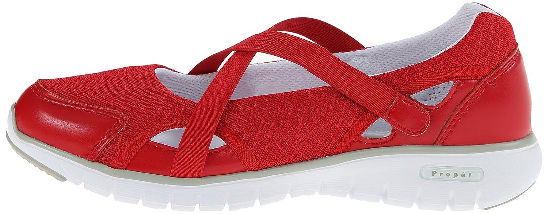 Propet Women's Travellite MJ 2E Walking Shoe B00MUBB4AM 7.5 2E MJ US|Red 28046f