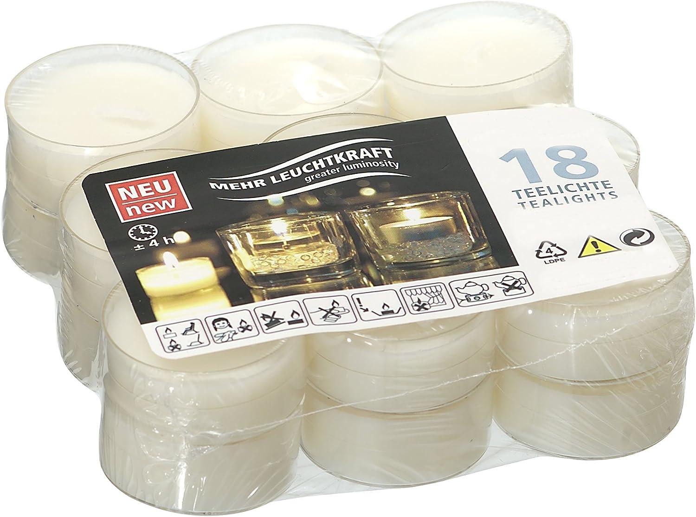 /50/Housse de bougies chauffe-plat longue dur/ée de combustion jusqu/à 8/heures dans Transp. Wenzel Kerzen Nightlights/