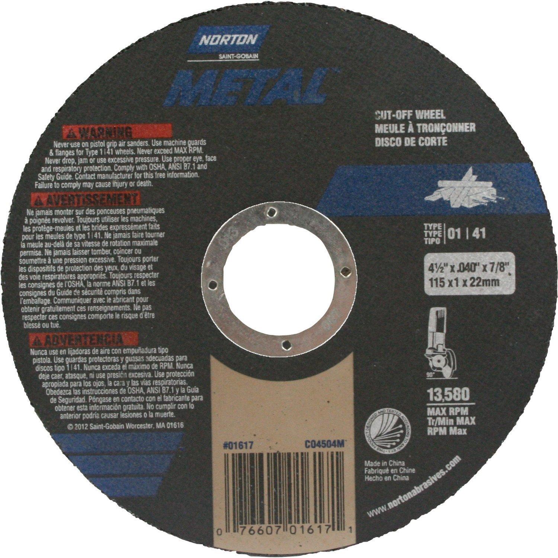 Cutoff Wheel4.5x.040x7/8