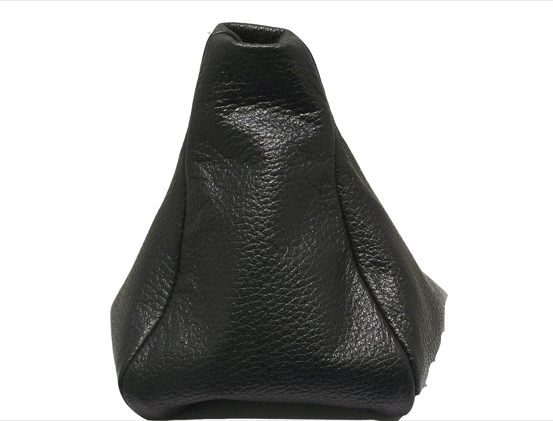 Para MERCEDESVITO Modelos 1996-2003 Funda para Palanca de Cambio 100/% Piel Color Negro