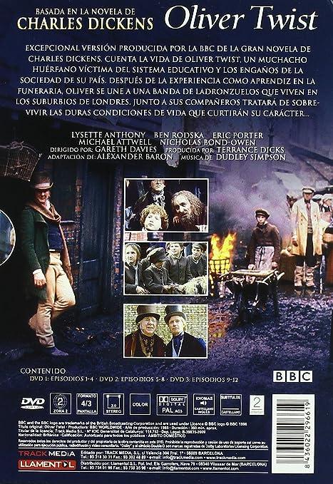 oliver twist gareth davies region pal dvd mini oliver twist 1985 gareth davies region 2 pal 3 dvd mini series ca dvd