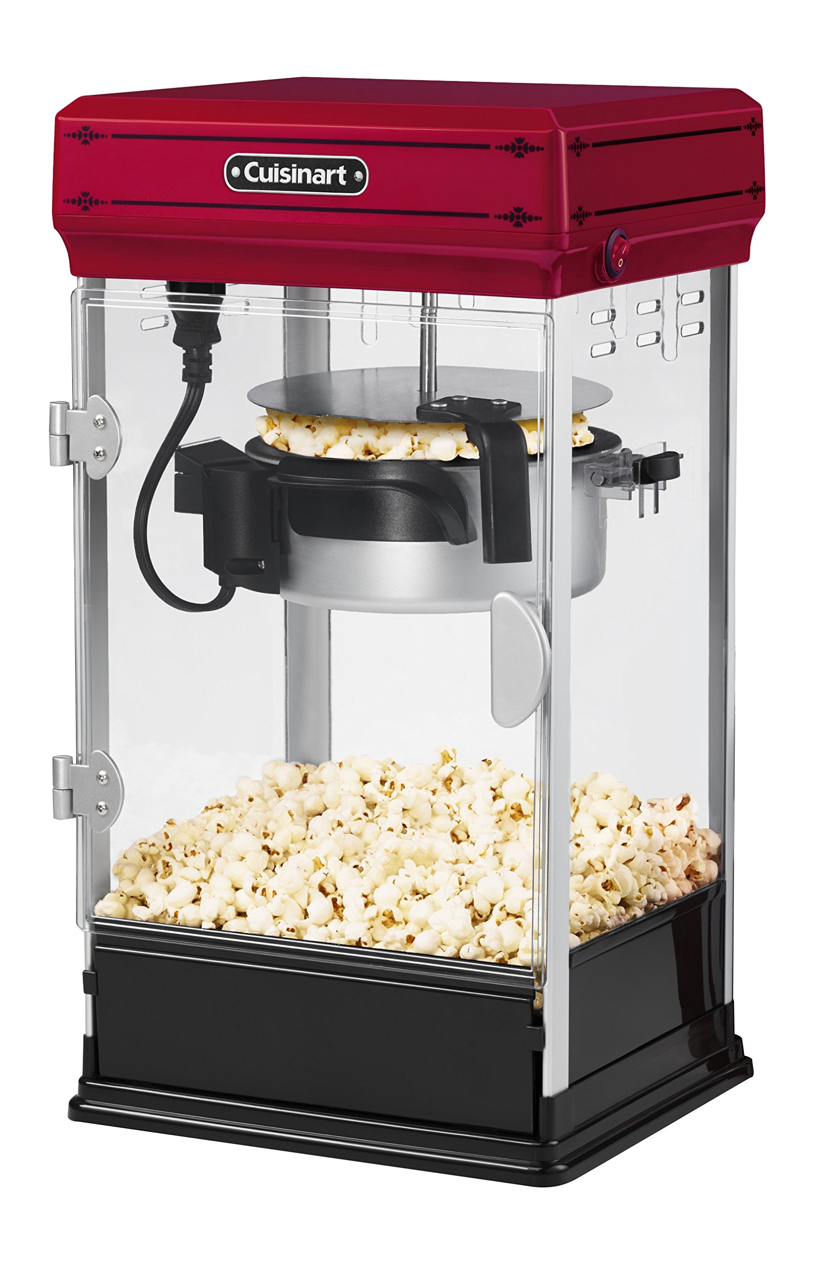 Cuisinart CPM-28 Classic-Style Popcorn Maker, Red by Cuisinart