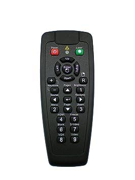 Optoma BR-5021L - Mando a Distancia (Proyector, Botones, Negro ...