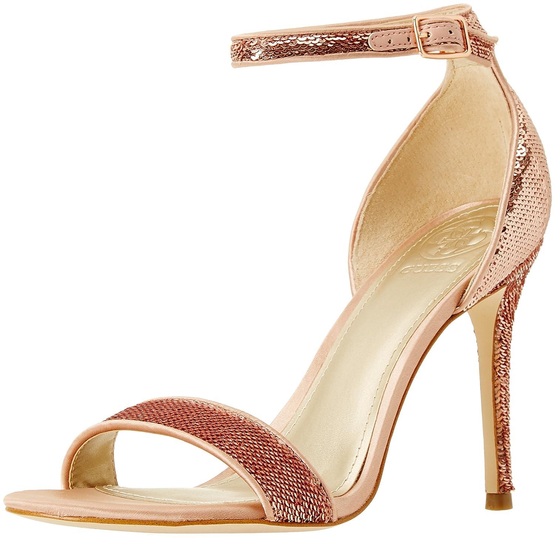 Guess Footwear Dress Sandal, Scarpe con Cinturino alla Caviglia Donna Rosa