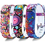 For Fitbit Flex Wristband/Fitbit Flex Band/Fitbit Flex Bracelet/Fitbit Flex Replacement Band, Colorful Silicone/Jewelry Bead Design