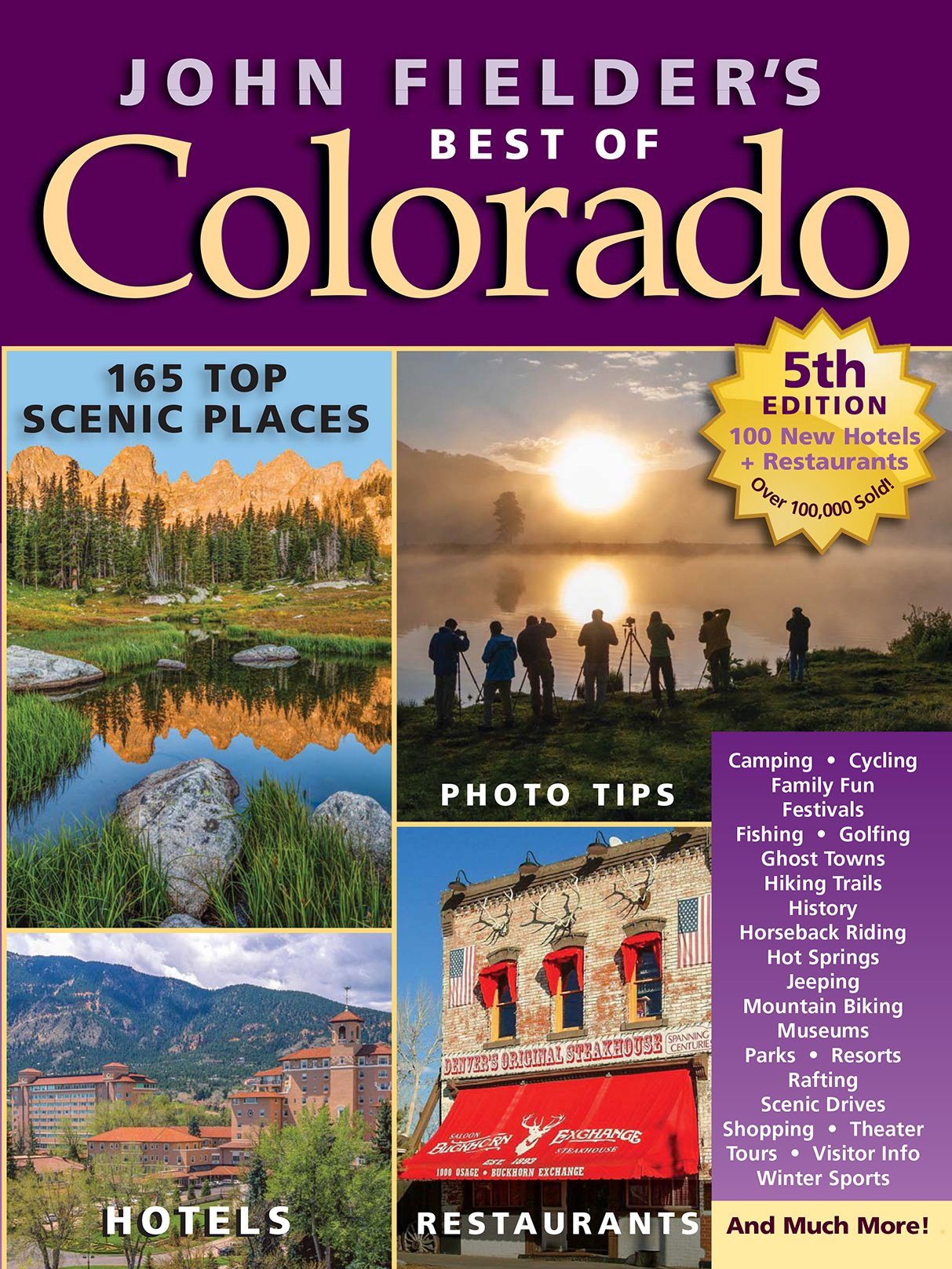 Download John Fielder's Best of Colorado, 5th Edition ebook