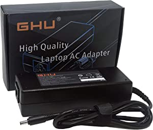 New GHU 130W Tip 4.5mm AC Charger Adapter Compatible with Dell XPS 15 9530 9550 9560 9570 Laptop and M3800 5510 5520 5530 Replace for 6TTY6 V363H 9TXK7 TX73F 332-1829 HA130PM130 DA130PM130