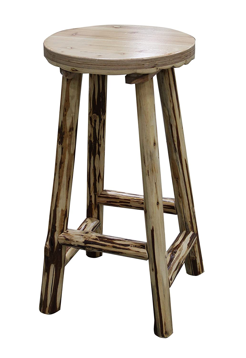 17 Best Wooden Bar Stools Natural Rustic Wood Kitchen  : 81SyBRQ2BWILSL1500 from www.bestlyy-curatedbyquality.co size 1032 x 1500 jpeg 144kB