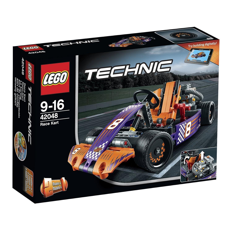 LEGO Kart de competición multicolor