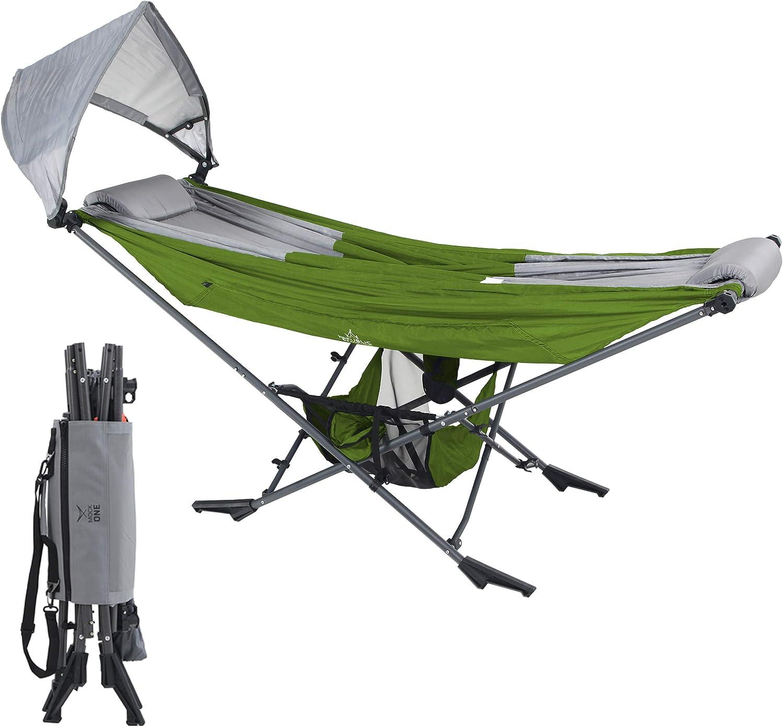 Mock one foldable camping hammock