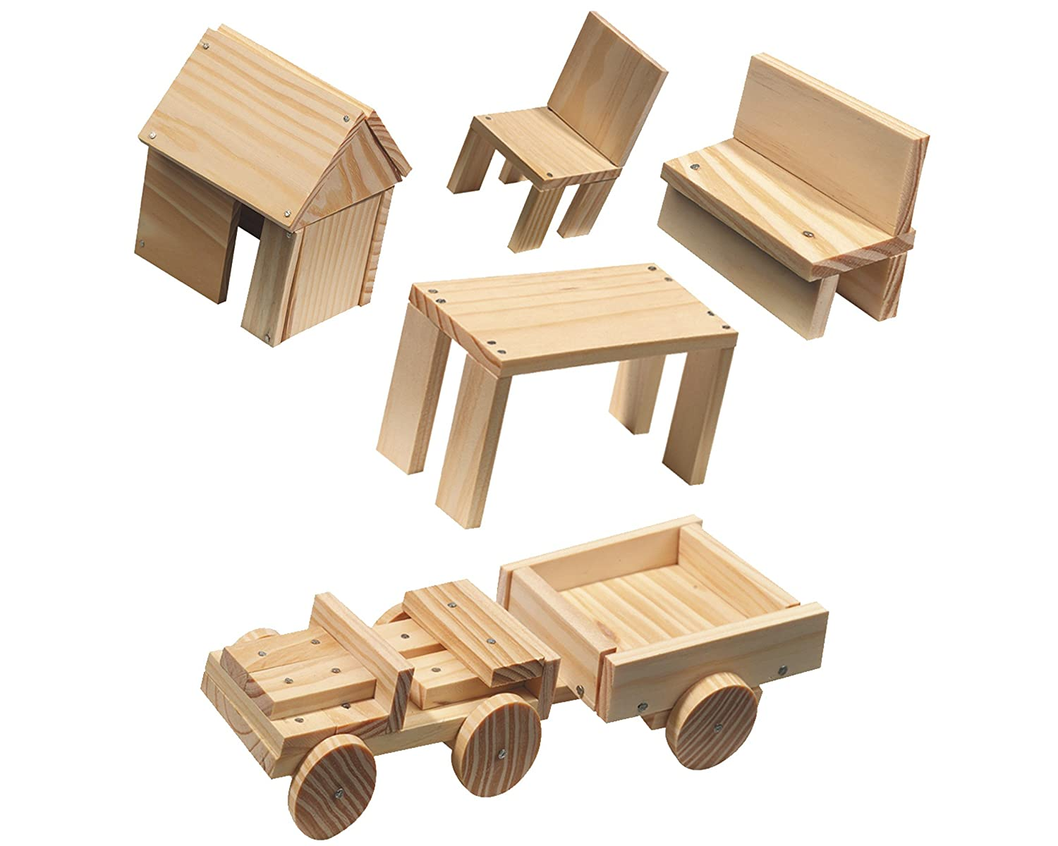 ses creative woodwork set amazon co uk toys games