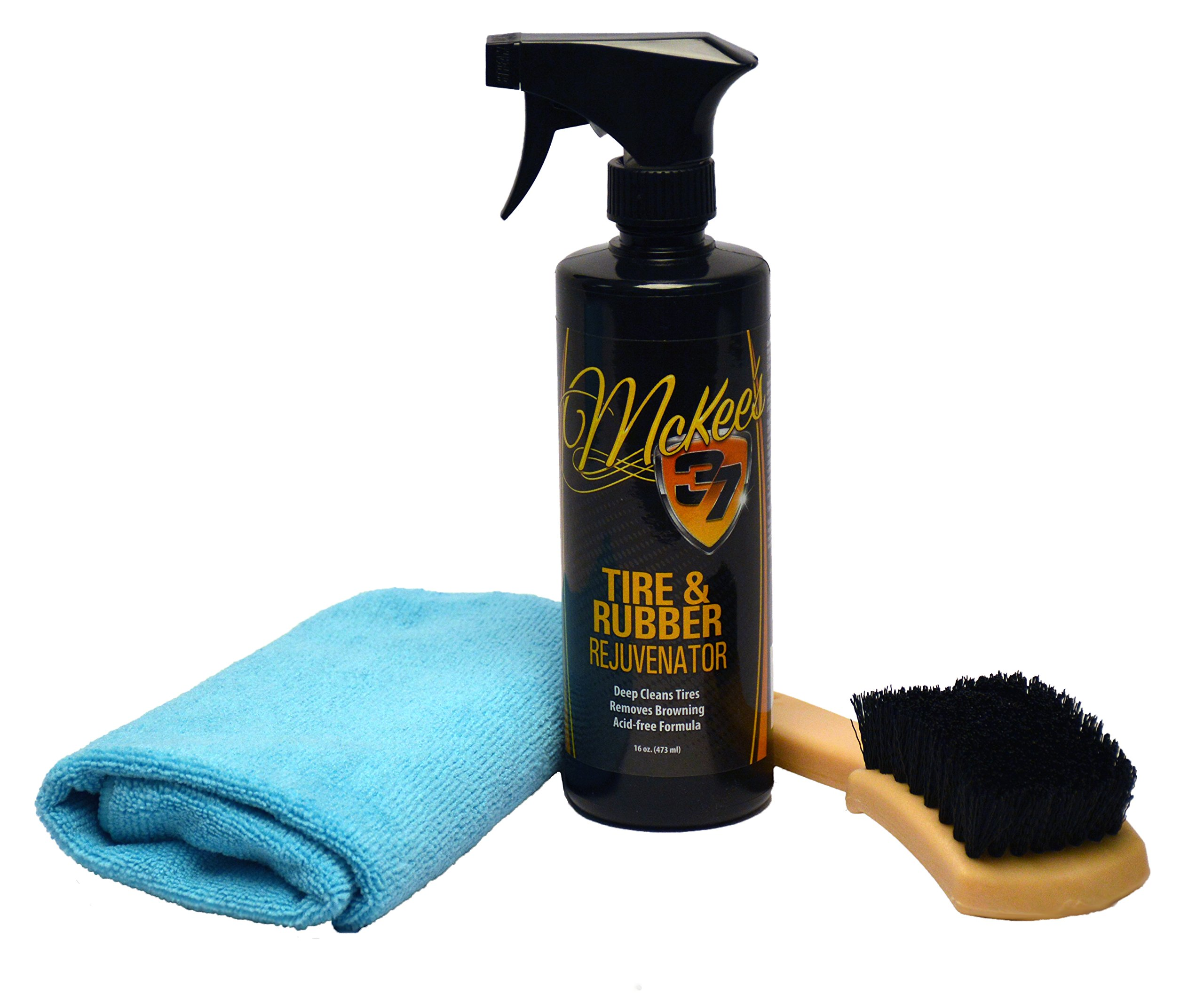 McKee's 37 MK37-1150 MK37-1150 White Wall Tire Cleaning Kit (3-Piece)