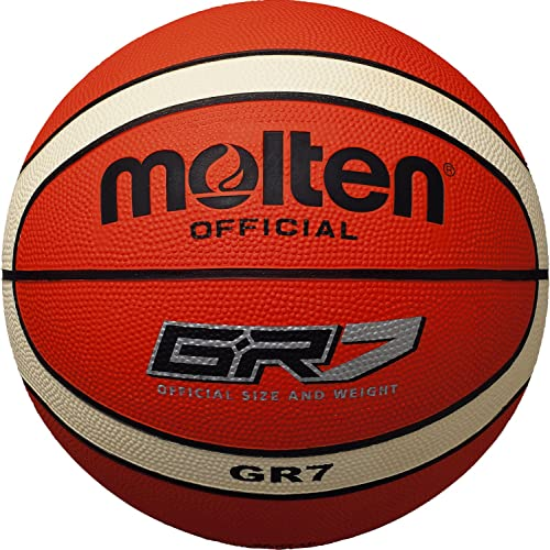 Molten Basketball - 7, Orange Beige